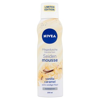 NIVEA Silk Mousse Vanilla Caramel Shower Mousse 200 ml