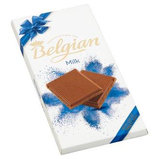 Belgian táblás tejcsokoládé 100 g