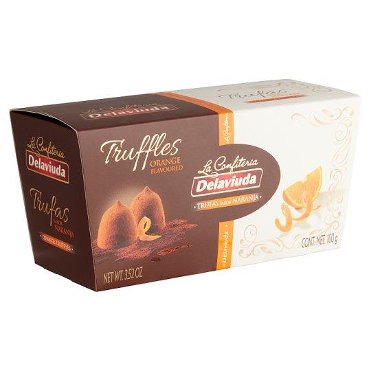 Delaviuda Orange Flavoured Chocolate Truffles 100 g