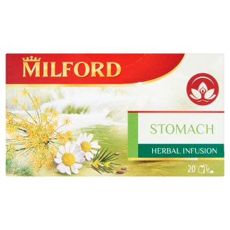 Milford Herbal Infusion Stomach Herbal Infusion Tea 20 Tea Bags 40 g