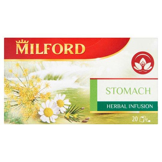 Milford Herbal Infusion Stomach alpesi gyógynövénytea 20 filter 40 g