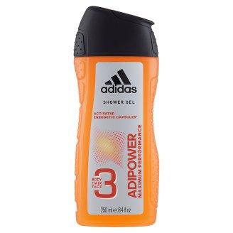 Adidas Adipower 3in1 tusfürdő 250 ml