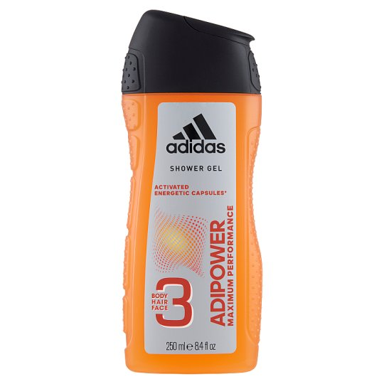 Adidas Adipower 3in1 Shower Gel 250 ml