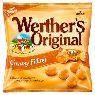 Werther's Original tejszínes cukorka karamellkrémmel töltve 80 g