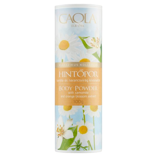 Caola Body Powder with Camomile and Orange Blossom Extract 100 g