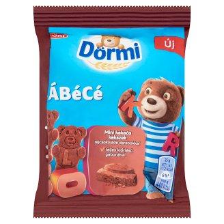 Dörmi ÁBéCé mini kakaós kekszek tejcsokoládé darabokkal 25 g