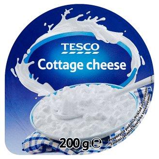 Tesco friss, szemcsés, zsírszegény sajt 200 g