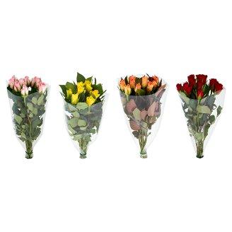 Tesco rózsa csokor 9 szál 4 színben