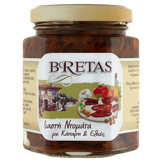 Bretas Dried Tomato with Capers and Olives 180 g