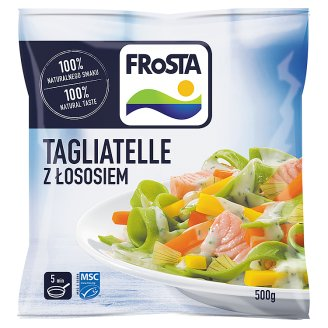 FRoSTA Quick-Frozen Tagliatelle with Salmon 500 g