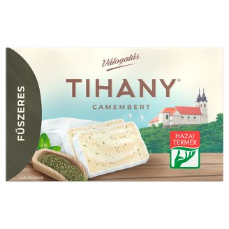 Tihany Válogatás Szendvics Camembert Fat Soft Cheese with Herbs 120 g