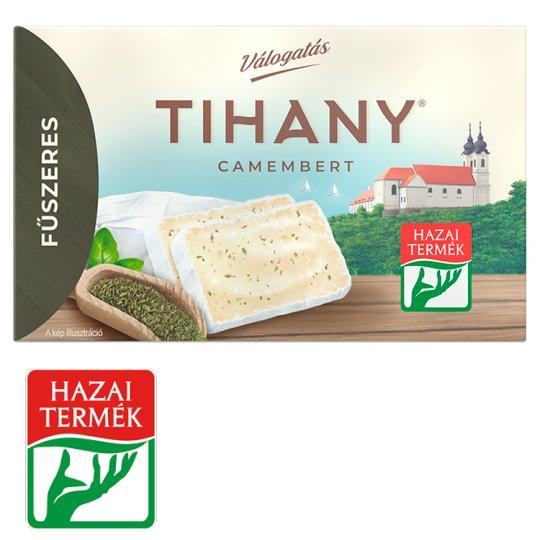 Tihany Válogatás Szendvics Camembert fűszeres zsíros lágysajt 120 g
