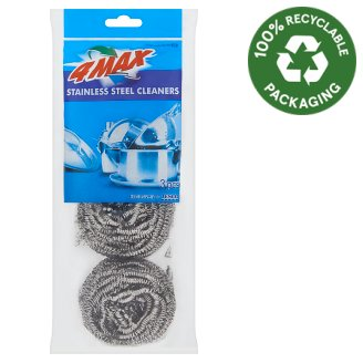 4MAX  Stainless Steel Cleaners 3 pcs