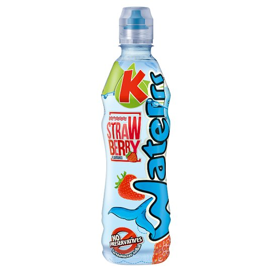 Kubu Waterrr Strawberry Non-Carbonated Soft Drink 500 ml