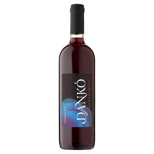 Dankó Duna-Tisza Közi Kékfrankos félédes vörös tájbor 10,5% 750 ml