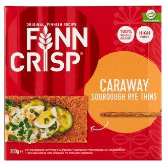 Finn Crisp vékony ropogós rozskenyér köménnyel 200 g