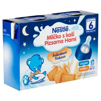 Nestlé Pizsama Hami Liquid Cereal Baby Food with Biscuit 6+ Months 400 ml