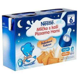 Nestlé Pizsama Hami kekszes folyékony gabonás bébiétel 6 hónapos kortól 400 ml