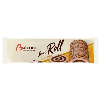 Balconi Roll with Fat-Reduced Cocoa Filling 250 g