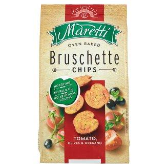 Maretti Bruschette paradicsom, olíva és oregáno ízesítésű pirított kenyérkarikák 70 g