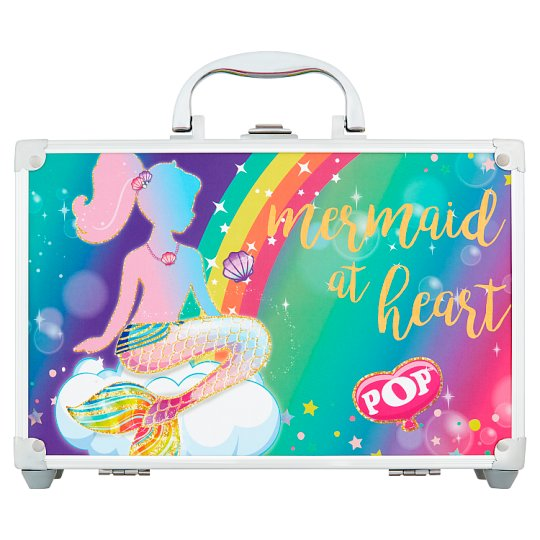Pop Mermaid at Heart Makeup Set in a Beauty Case