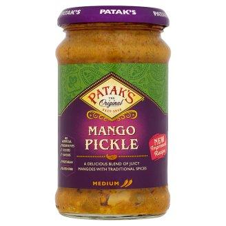 Patak's Mango Pickle Medium Hot Marinated Mango with Spices 283 g