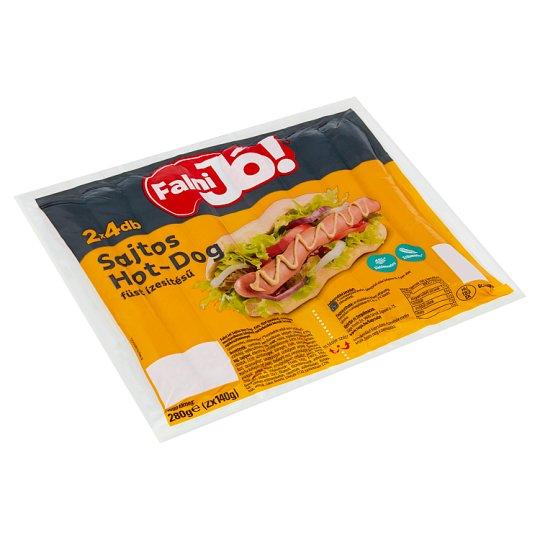 Falni Jó! Smoke Flavoured Hot-Dog with Cheese 2 x 140 g