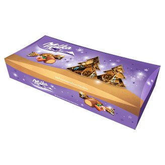 Milka Alpine Milk Chocolate Covered Marzipan Flavoured Christmas Candy 338 g