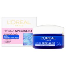 image 2 of L'Oréal Paris Hydra Specialist Moisturizing Night Cream for All Skin Types 50 ml