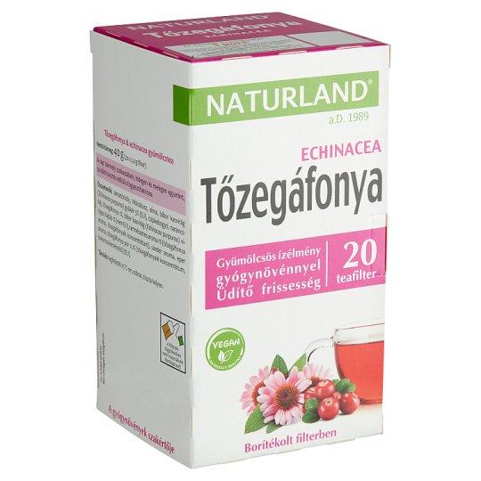 Naturland Fruit and Herb Cranberry & Echinacea Fruit Tea 20 Tea Bags 40 g
