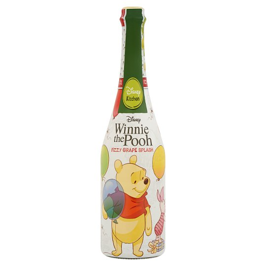 Disney Kitchen Winnie the Pooh Sparkling Grape Drink with Sugar and Sweetener 0,75 l
