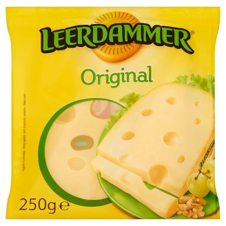 Leerdammer Original Lactose-Free, Semi-Hard Fat Cheese 250 g