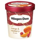Häagen-Dazs Mango Flavoured Ice Cream with Strawberry Dressing 500 ml