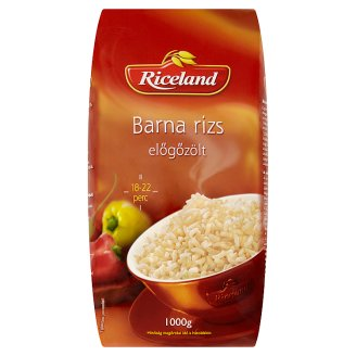 Riceland Par-Boiled Brown Rice 1000 g