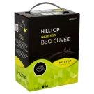 Hilltop Bor-Box Neszmély Dunántúli BBQ Cuvée Chardonnay-Királyleányka száraz fehérbor 11,5% 3 l