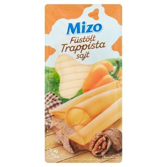 Mizo Fat, Semi-Hard, Sliced, Smoked Trappist Cheese 125 g