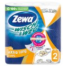 Zewa Wisch & Weg eXtra Lang Design Household Towels 2 Ply 2 Rolls