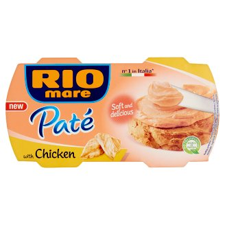 Rio Mare Paté with Chicken 2 x 84 g