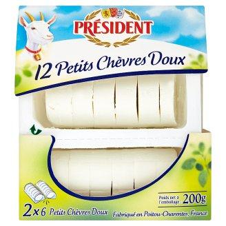 Président Petits Chèvres Doux Goat Cheese 200 g