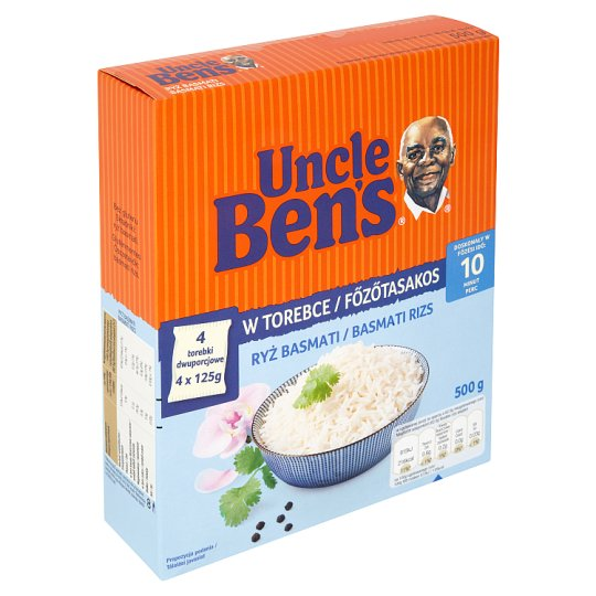 Uncle Ben's főzőtasakos basmati rizs 500 g