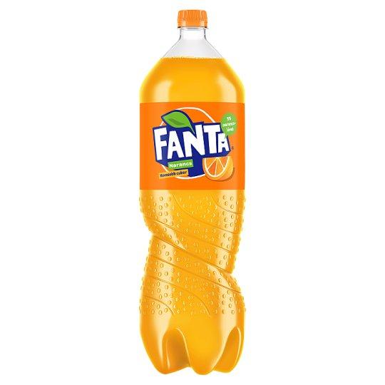 Fanta Orange Carbonated Soft Drink 2,25 l