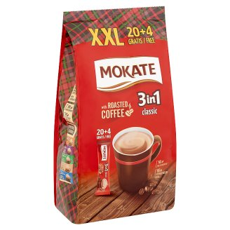 Mokate 3 in 1 Classic Coffee Drink in Powder 24 x 18 g