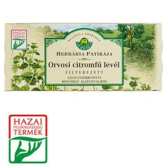 Herbária Patikája Lemongrass Leaves Tea 25 Tea Bags 25 g