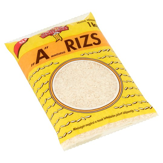 "Mesterrizs ""A"" Quality Rice 1 kg"