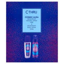 image 1 of C-Thru Cosmic Aura Deospray 75 ml & Cosmic Aura Shower Gel 150 ml Gift Box