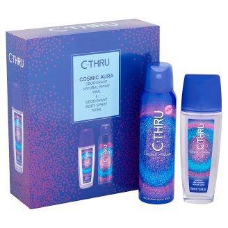 image 2 of C-Thru Cosmic Aura Deospray 75 ml & Cosmic Aura Shower Gel 150 ml Gift Box