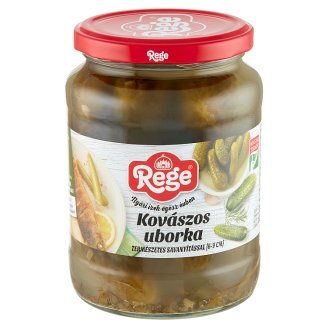 Rege Naturally Acidified Gherkins 6-9 cm 680 g
