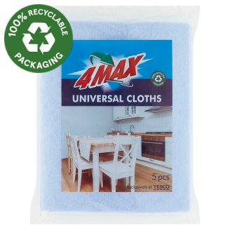 4MAX Universal Cloths 5 pcs