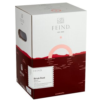 Feind Rosé Cuvée száraz rosé bor 12% 5 l