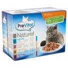 PreVital teljes értékű állateledel felnőtt macskák számára 4 ízben 12 x 85 g